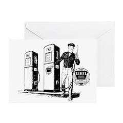 Ethyl Gasoline Greeting Cards (Pk of 10)