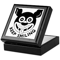 Keep Smiling! Keepsake Box