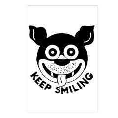 Keep Smiling! Postcards (Package of 8)