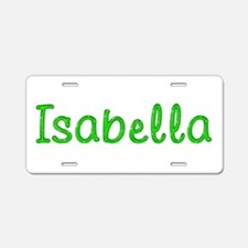 Isabella Glitter Gel Aluminum License Plate