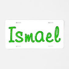 Ismael Glitter Gel Aluminum License Plate