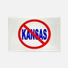 Funny Kansas state wildcats Rectangle Magnet