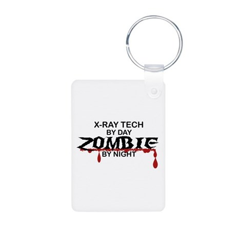 X-Ray Tech Zombie Aluminum Photo Keychain
