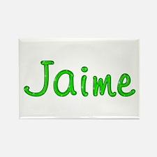 Jaime Glitter Gel Rectangle Magnet
