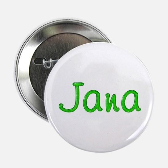 Jana Glitter Gel Button