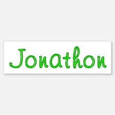 Jonathon Glitter Gel Bumper Bumper Bumper Sticker