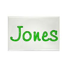 Jones Glitter Gel Rectangle Magnet