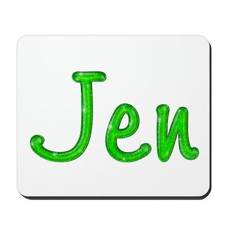 Jen Glitter Gel Mousepad