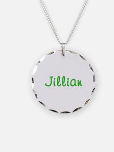 Jillian Glitter Gel Necklace