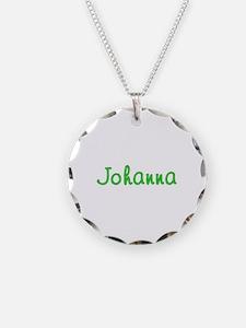 Johanna Glitter Gel Necklace