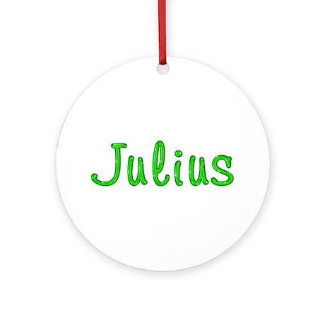 Julius Glitter Gel Round Ornament