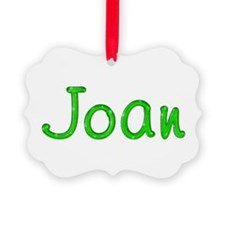 Joan Glitter Gel Ornament