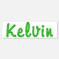Kelvin Glitter Gel Bumper Bumper Bumper Sticker