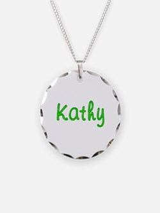 Kathy Glitter Gel Necklace