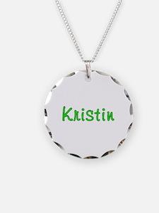 Kristin Glitter Gel Necklace
