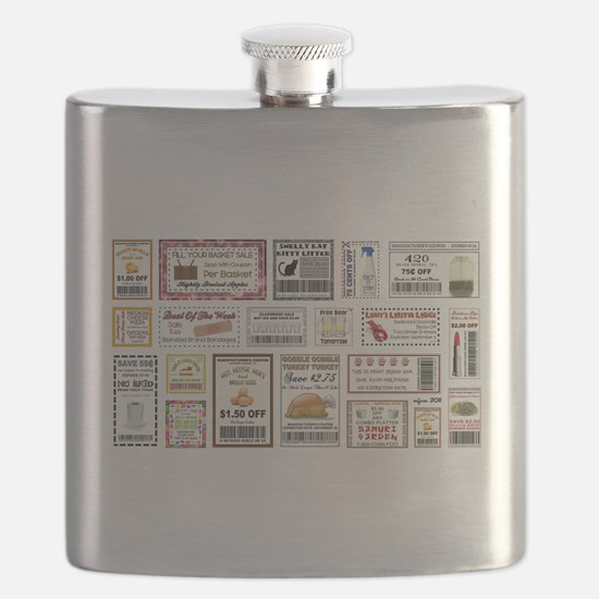 COOL COUPONS Flask