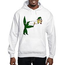 Smoking Pot Leaf Hoodie