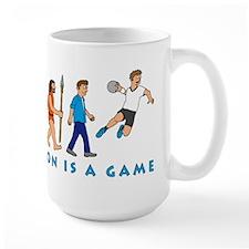 Evolution is a game Mug