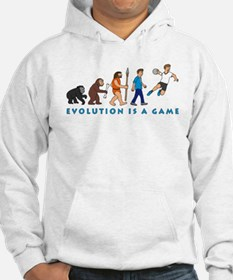Evolution is a game Hoodie