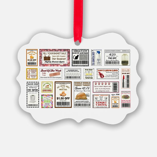 COOL COUPONS Ornament