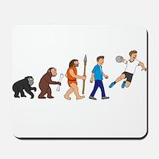 Evolution handball player Mousepad