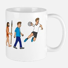 Evolution handball player Mug