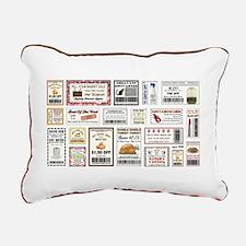 COOL COUPONS Rectangular Canvas Pillow