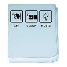 Musician baby blanket
