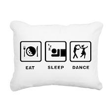 Swing Dancing Rectangular Canvas Pillow
