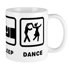 Swing Dancing Small Mug