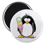 Ice Cream Penguin Magnet