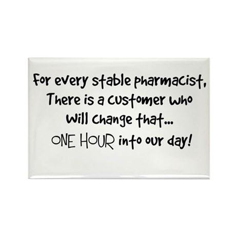 stable pharmacist.PNG Rectangle Magnet (10 pack)
