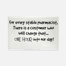 stable pharmacist.PNG Rectangle Magnet