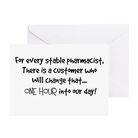 stable pharmacist.PNG Greeting Cards (Pk of 10)