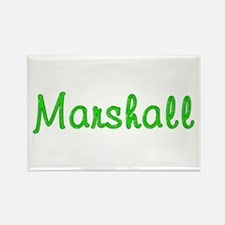 Marshall Glitter Gel Rectangle Magnet
