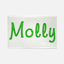 Molly Glitter Gel Rectangle Magnet