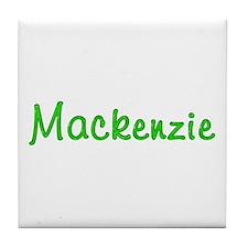 Mackenzie Glitter Gel Tile Coaster