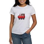 Penguin on a Train Women's T-Shirt