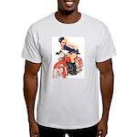 Motorcycle Mama Ash Grey T-Shirt
