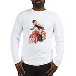Motorcycle Mama Long Sleeve T-Shirt