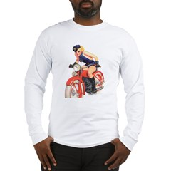 Motorcycle Mama Long Sleeve T-Shirt
