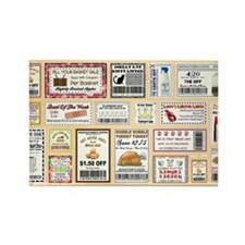 COOL COUPONS Rectangle Magnet