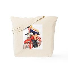 Motorcycle Mama Tote Bag