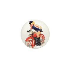 Motorcycle Mama Mini Button (100 pack)
