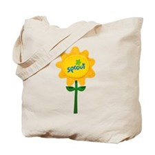 Sprout Sunflower Tote Bag