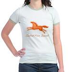 Chestnut Mare, Beware! Jr. Ringer T-Shirt