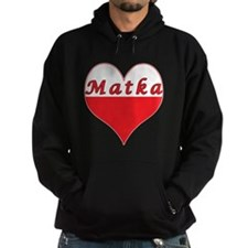 Matka Polish Heart Hoodie