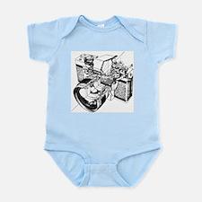 Cutaway Camera Infant Bodysuit