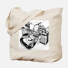 Cutaway Camera Tote Bag