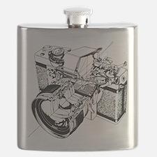 Cutaway Camera Flask